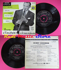 LP 45 7'' BENNY GOODMAN Let's dance Ridin'high Stardust Sugar foot no cd mc dvd