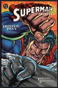 Superman Doomsday #3 Hunter Prey SIGNED Dan Jurgens / DC Comics