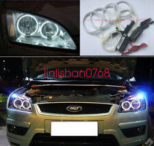 4pcs Excellent SMD Angel Eyes kit Halo Rings For For Ford Focus II Mk2 2004-2008
