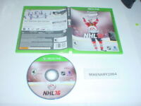 NHL 16 Hockey game in case for Microsoft XBOX ONE system