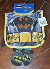 Batman Infant Caped Bib & Bootie Set ~One Size Fits Most~ Free Shipping!