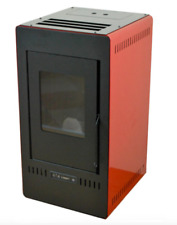 Stufa a pellet Mugatta ad aria ventilata da 8,82 kw per riscaldamento casa