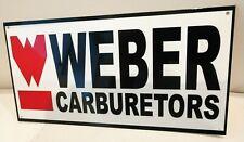 Weber Carburetor Sign .gas oil gasoline garage