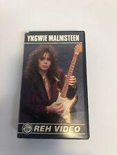 Yngwie Malmsteen VHS REH Video