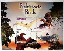 DINOSAUR STAMPS SHEET OF 4 MNH 2005 GRENADA GRENADINES PREHISTORIC BIRDS