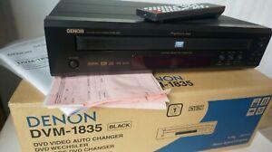 MIB DENON DVM-1835 HIGH QUALITY 5-DISC CD DVD VIDEO CHANGER