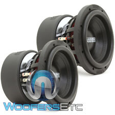 "(2) Sundown Audio X-8 V.3 D2 8"" 800W Rms Dual 2-Ohm Subwoofers Bass Speakers New"