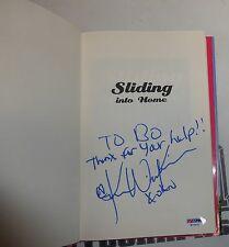 Kendra Wilkinson Signed Sliding into Home Book PSA/DNA Playboy Girls Next Door