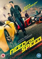 Need for Speed DVD (2014) Aaron Paul, Waugh (DIR) cert 12 ***NEW*** Great Value