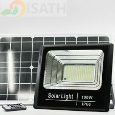100W Led Light Sensor Solar Lights,Wall Lights Outdoor Garden Yard(White) Ip66