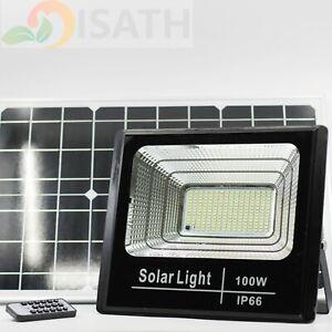100W LED Light Sensor Solar Lights,Wall Lights Outdoor Garden Yard(White) IP66