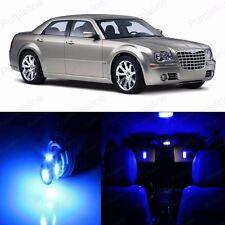 14 x Ultra Blue LED Interior Light Package For Chrysler 300 300C 2005 - 2010