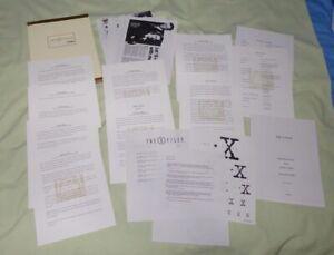 X-Files Season 9 Press Pack