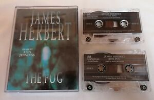 AUDIO BOOK CASSETTE - The Fog By James Herbert Read By Alex Jennings X2 Tapes