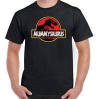 Mummysaurus T-Shirt Mens Funny Mothers Day Mummy Gift for Mum Top