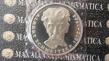 GERMANIA 5 MARCHI MARK SILVER PROOF 1975 G  C. Z-384