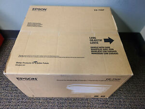 Brand New Sealed Epson PowerLite 750F 3 LCD Laser Projector EMP750F V11HA08520