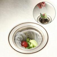 Sink Drain Trash Strainer Mesh Disposable Garbage Bag Kitchen Waste Filter Tool
