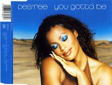 DES'REE YOU GOTTA BE 3 TRACK CD SINGLE CD2 FREE P&P TIN TIN OUT MIX