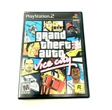 New listing Grand Theft Auto Vice City Ps2 Playstation 2 Game.