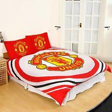 Manchester United 'Pulse' Double Duvet Cover Bedding Set Reversible Quilt Cover
