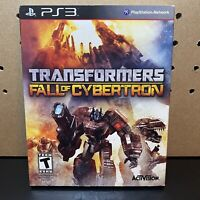 Transformers: Fall of Cybertron Sony PlayStation 3 PS3 Complete With Slipcover