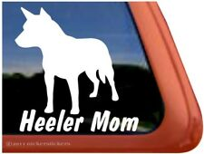Heeler Mom   Australian Cattle Dog Window Decal Sticker