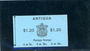 Antigua 1966 Scott# 175a Mint NH Booklet