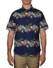 Tommy Bahama Size M Lei Low Stripe Hawaiian Short Sleeve Linen Shirt BNWT NWT