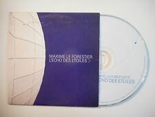 MAXIME LE FORESTIER : L'ECHO DES ETOILES [ CD SINGLE PORT GRATUIT ]