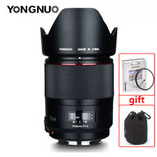 New YONGNUO YN35MM F1.4 Wide Angle MF Lens for Canon 600D 60D 5DII 5D 500D 400D