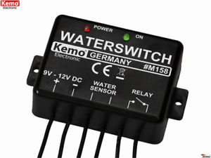 KEMO M158 Wassermelder Wasserschutz Wasseralarm 9...12V B-Ware / Alte Version