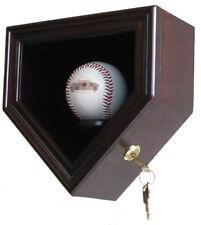 Single  Baseball display Case Cabinet, with LOCKABLE 98% UV Protection, B14-MAH