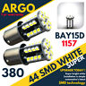 44 Leds 360° LED Blanco Pare / Cola Freno / Lateral Bombillas 1157 BAY15D P21/5W