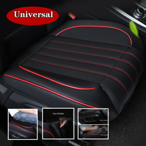 Breathable SUV Car Front Seat Cushion Pad Cover W/ Package PU Leather Anti-slip