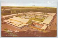 New Orleans Louisiana~Hilton Inn @ Moisant International Airport~Airplane~1950s