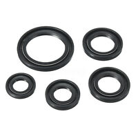 5 PCS ENGINE OIL SEAL SET KIT FOR PIT DIRT ATV QUAD BIKE LONCIN LIFAN 110CC