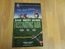 FASCINATING Aida inc Keane Cutts & Anderson Original COMEDY Theatre Poster