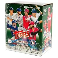 2018 Topps Series 1 & 2 Baseball Complete Factory Set Cards 1-700 (Qty) *Opened*