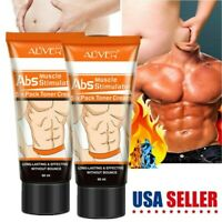 Men Slimming Cream Fat Burning Weight Loss Gel Muscle Belly Stomach Reducer USA