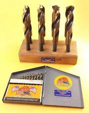 Drill Hog® 13 Pc Drill Bit Set + 8 Pc Silver & Deming M7 Stand Lifetime Warranty