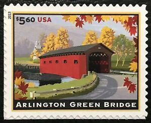 2013 Scott #4738 - $5.60 - ARLINGTON GREEN BRIDGE - PRIORITY MAIL - Single - MNH