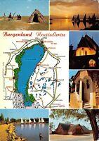 GG09926 burgenland neusiedlersee map karten  austria