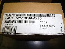 NEW SIEMENS  6ES7142-1BD40-OXBO MODULE 4DO 24V DC/2A ET200X ES71421BD40OXBO
