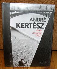New Sealed Andre Kertesz Paris Autumn 1963 France Unpublished Photographs HC DJ