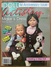 """Doll Artistry """"1st Anniversary"""" Issue ~ Magazine - 1991 Edition - Patterns UNCUT"""