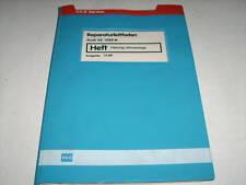 Werkstatthandbuch Audi V 8 / V8 D11 Klimaanlage / Heizung ab 1989