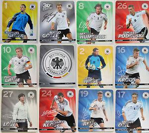 Rewe Album Offi. DFB Em 2012 German Foot Ball Federal Trading Cards Players Card