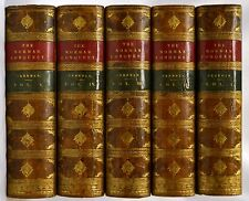 5 VOL.NORMAN CONQUEST OF ENGLAND 1870-1876 COMPLETE FINE BINDING TREE CALF RARE!