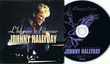 JOHNNY HALLYDAY - L'hymne à l'amour - CD-promo